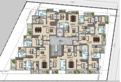 Project Image of 673.0 - 766.0 Sq.ft 2 BHK Apartment for buy in 3 Little Birds