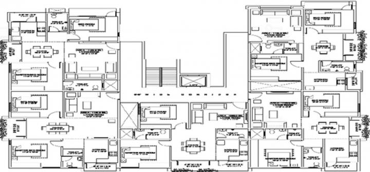 Project Image of 1060.0 - 1165.0 Sq.ft 2 BHK Apartment for buy in Sri Sai Residency