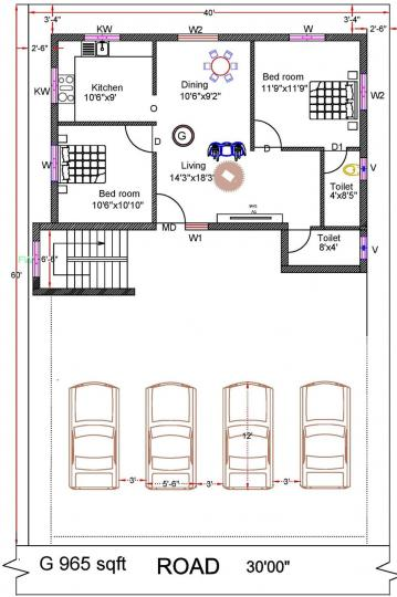 Project Image of 0 - 772.0 Sq.ft 2 BHK Apartment for buy in Rohaan Snowbell