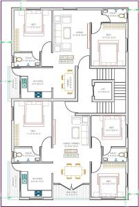 Project Image of 988.0 - 1180.0 Sq.ft 2 BHK Apartment for buy in MC Zodiac Flats