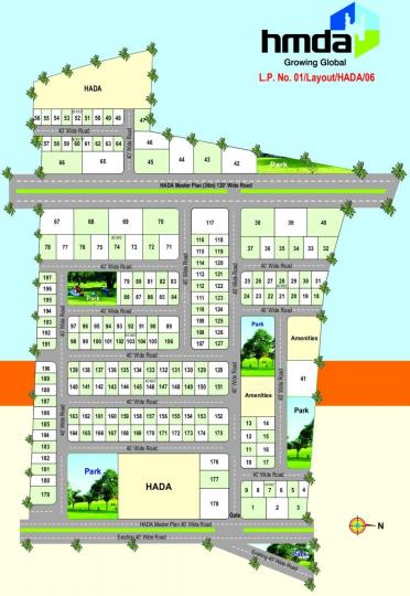 Project Image of 1980 - 5625 Sq.ft Residential Plot Plot for buy in Green Rainbow Drive