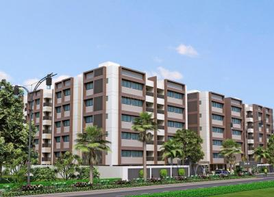 Gallery Cover Image of 1899 Sq.ft 3 BHK Apartment for rent in Sola Village for 22000