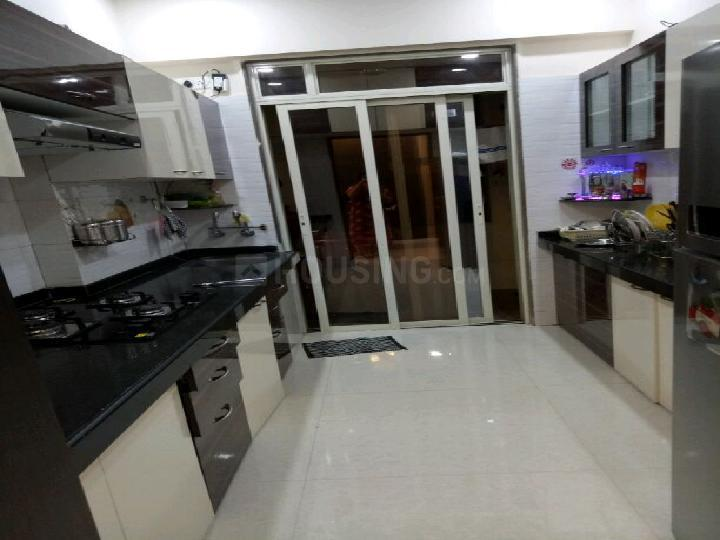 Kitchen Image of 1075 Sq.ft 2 BHK Apartment for rent in Kalyan West for 13500