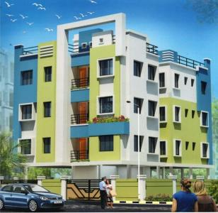 Gallery Cover Image of 1053 Sq.ft 3 BHK Apartment for buy in Nayabad for 3300000