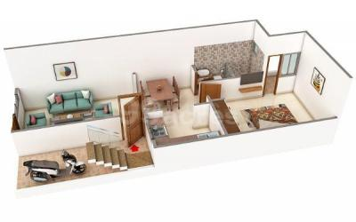 Gallery Cover Image of 648 Sq.ft 1 BHK Apartment for buy in Atharv Royal Green City, Morta Village for 1600000