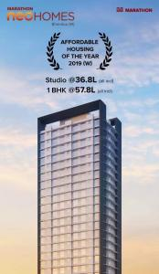 Gallery Cover Image of 491 Sq.ft 1 RK Apartment for buy in Betawade Gaon for 3800000