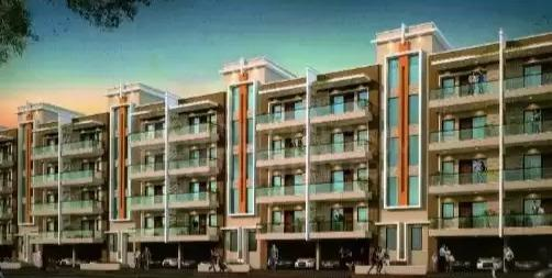 Building Image of 1244 Sq.ft 3 BHK Independent Floor for buy in Amolik Residency Apartment, Sector 86 for 5100000