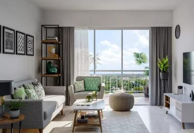 Gallery Cover Image of 1050 Sq.ft 2 BHK Apartment for buy in Godrej Green Glades, Jagatpur for 4200000