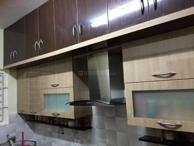 Gallery Cover Image of 1584 Sq.ft 3 BHK Apartment for rent in DSR Woodwinds, Kaikondrahalli for 38000