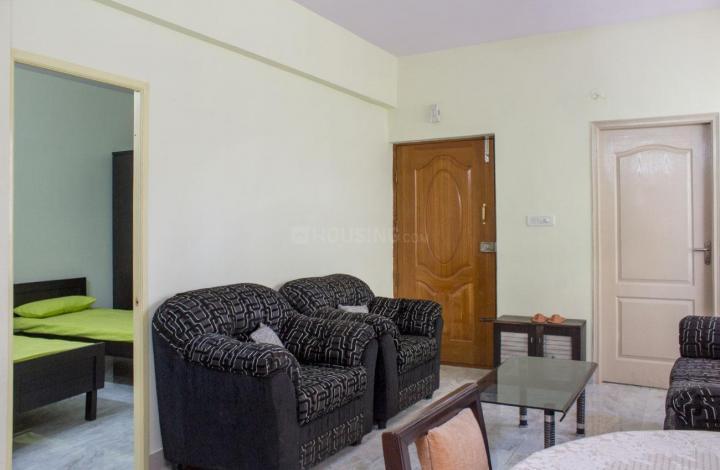 श्रीरंपुरम में बॉइज़ पीजी में लिविंग रूम की तस्वीर