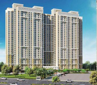 Gallery Cover Image of 636 Sq.ft 2 BHK Apartment for buy in Thane West for 9825000