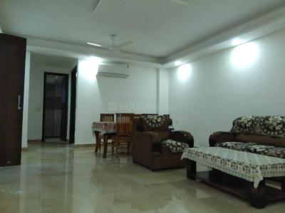 Gallery Cover Image of 1600 Sq.ft 3 BHK Independent House for rent in Saket for 42000