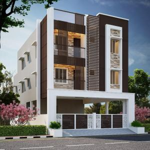Gallery Cover Image of 713 Sq.ft 2 BHK Apartment for buy in Nanmangalam for 2852000