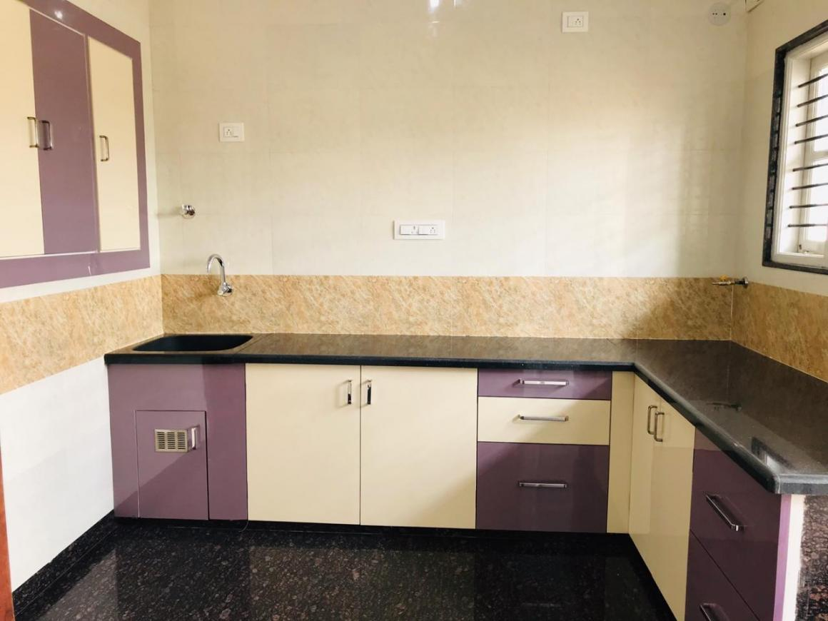 Kitchen Image of 1400 Sq.ft 3 BHK Apartment for rent in Vijayanagar for 32000