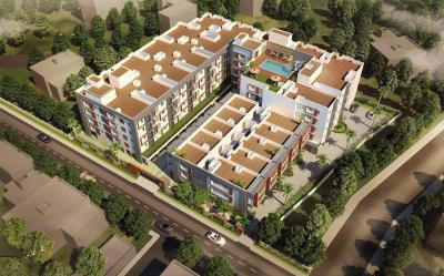 Gallery Cover Image of 1281 Sq.ft 2 BHK Apartment for buy in Sholinganallur for 6990000