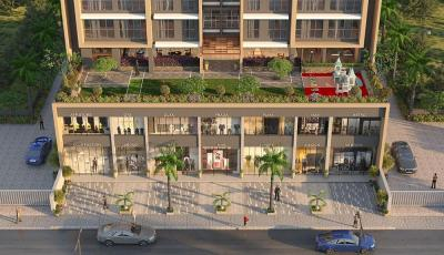 Gallery Cover Image of 700 Sq.ft 1 BHK Apartment for buy in Prajapati Opal, New Panvel East for 6400000