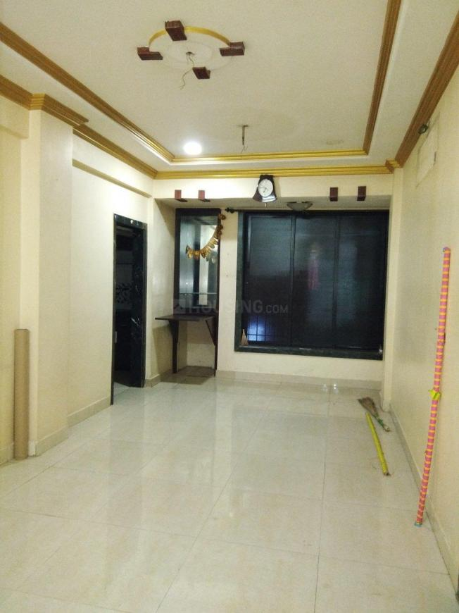Living Room Image of 695 Sq.ft 1 BHK Apartment for rent in Airoli for 20000