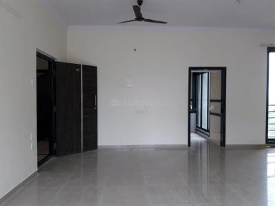 Gallery Cover Image of 1570 Sq.ft 3 BHK Apartment for rent in Gajra Bhoomi Oscar, Ghansoli for 45000