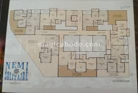 Gallery Cover Image of 850 Sq.ft 2 BHK Apartment for buy in Nemi Solitaire, Vevoor for 3600000