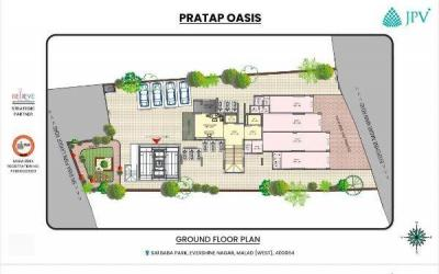 Gallery Cover Image of 700 Sq.ft 1 BHK Apartment for buy in Horizon Homes, Malad West for 10000000