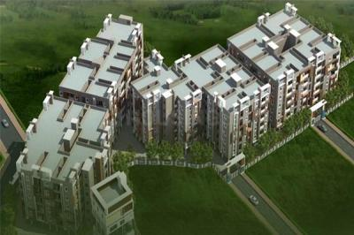 Gallery Cover Image of 1024 Sq.ft 2 BHK Apartment for buy in Chandanagar for 5200000