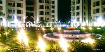Gallery Cover Image of 1305 Sq.ft 3 BHK Apartment for rent in Bengal Greenfield Elegance, Rajarhat for 18000