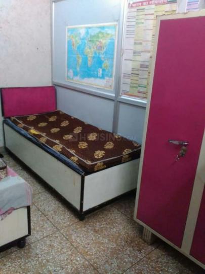 मुखर्जी नगर में कृष्णन पीजी में बेडरूम की तस्वीर