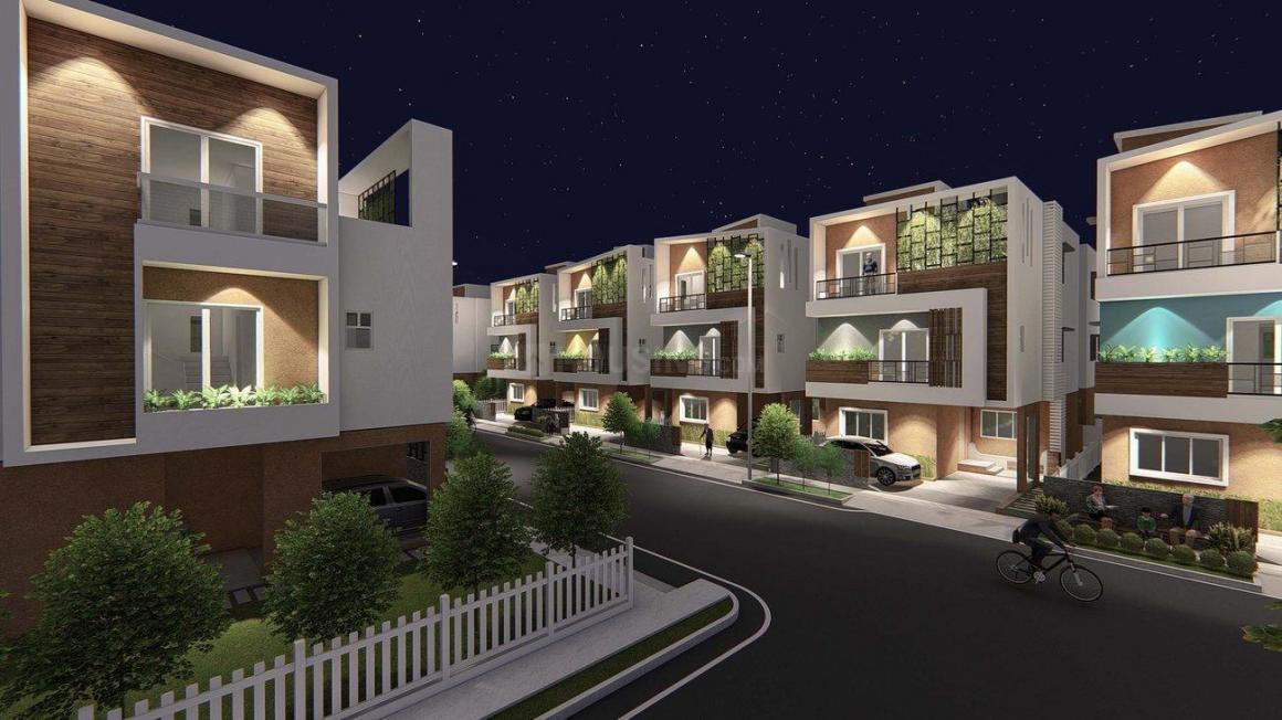 Building Image of 2217 Sq.ft 4 BHK Villa for buy in Bommenahalli for 13449567