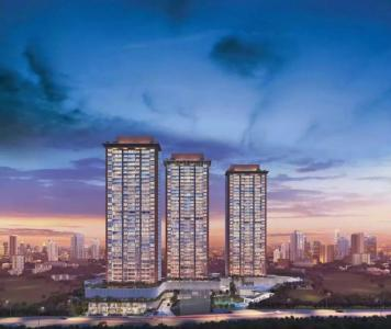 Gallery Cover Image of 1079 Sq.ft 2 BHK Apartment for buy in Godrej Exquisite, Thane West for 11900000