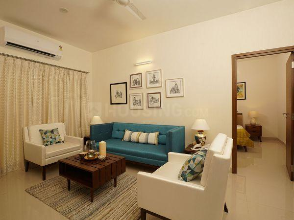 Living Room Image of 1138 Sq.ft 2 BHK Apartment for buy in Korattur for 6690000