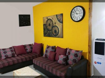 Living Room Image of The Canvas PG in Electronic City