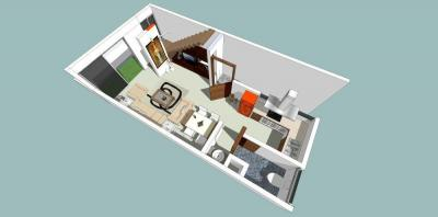 Gallery Cover Image of 1400 Sq.ft 2 BHK Independent House for buy in Titoli for 2500000