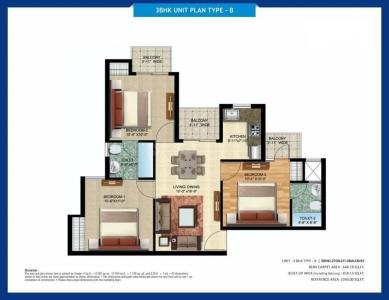 Gallery Cover Image of 677 Sq.ft 2 BHK Apartment for buy in Oro Oro City Extension , Jankipuram for 3537750