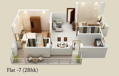 Gallery Cover Image of 1220 Sq.ft 2 BHK Apartment for buy in Danapur for 4000000