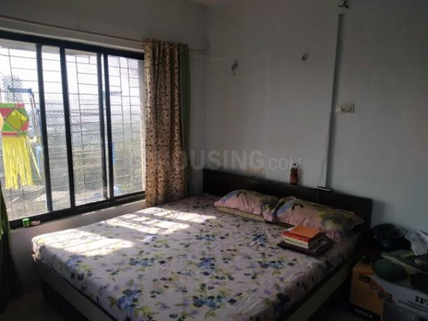 Bedroom Image of 610 Sq.ft 1 BHK Apartment for rent in Thane West for 20000