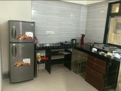 ठाणे वेस्ट में जानवी में किचन की तस्वीर