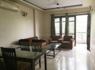 Gallery Cover Image of 1500 Sq.ft 3 BHK Independent Floor for rent in Chittaranjan Park for 60000