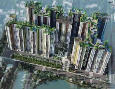 Gallery Cover Image of 1350 Sq.ft 3 BHK Apartment for buy in Siddha Eden Lakeville, Baranagar for 7537000