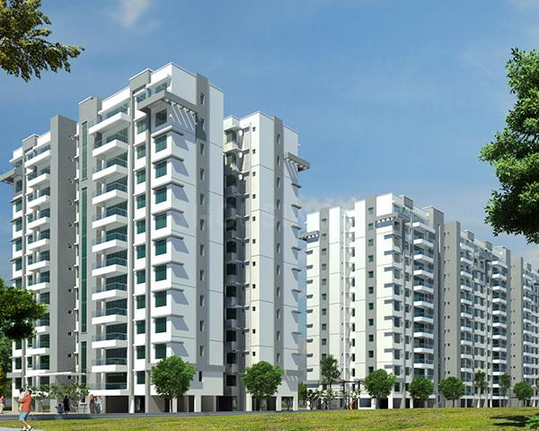 Building Image of 1922 Sq.ft 3 BHK Apartment for rent in Harlur for 45000