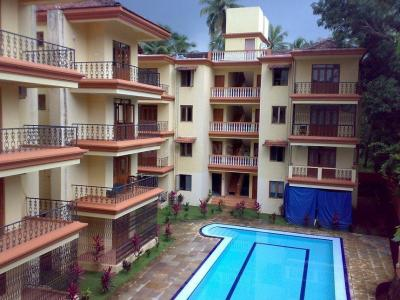 Gallery Cover Image of 743 Sq.ft 1 BHK Apartment for buy in Nagoa for 3700000