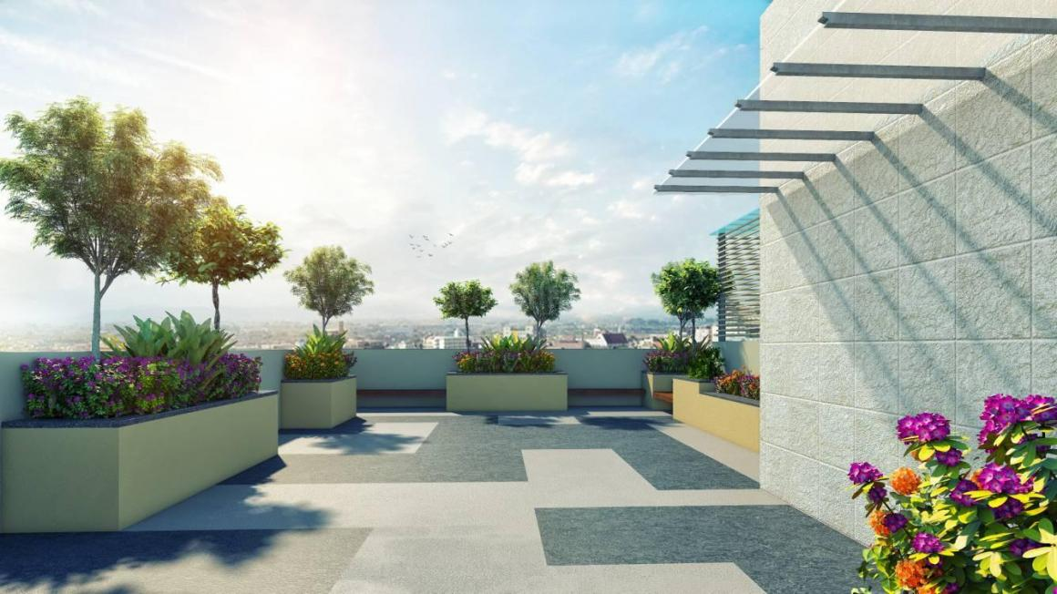 Terrace Image of 1168 Sq.ft 3 BHK Independent House for buy in New Alipore for 9811000