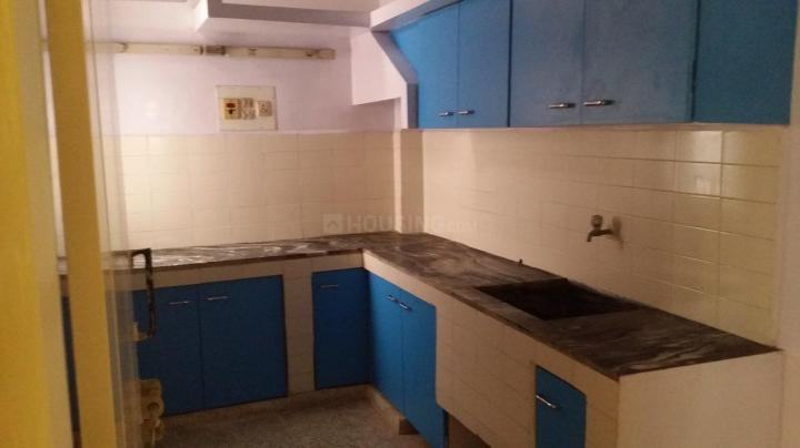 Kitchen Image of 1000 Sq.ft 2 BHK Independent Floor for rent in Shanti Nagar for 20000