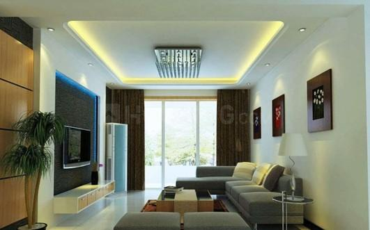 Living Room Image of 655 Sq.ft 1 BHK Apartment for buy in Laxminagar for 2800000