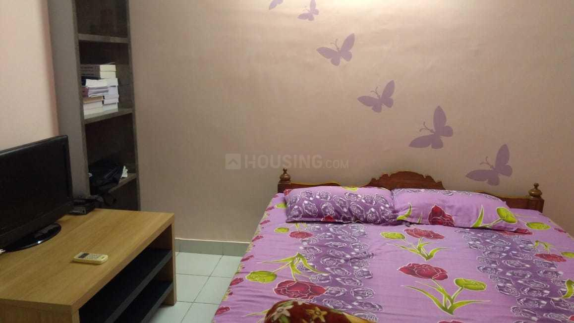 Bedroom Image of 879 Sq.ft 2 BHK Apartment for rent in Joka for 16000