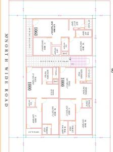 Gallery Cover Image of 1000 Sq.ft 2 BHK Apartment for buy in Mahadevpur Colony for 4200000