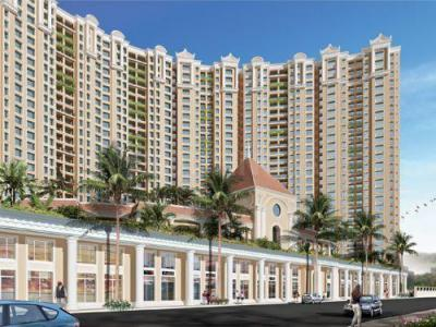 Gallery Cover Image of 940 Sq.ft 3 BHK Apartment for buy in Risland And Siddhi The Icon Phase 3, Thane West for 15000000
