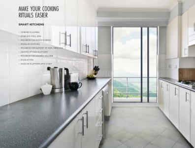 Kitchen Image of 650 Sq.ft 1 BHK Apartment for buy in Ashar Sparkle, Thane West for 7900000