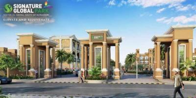 Gallery Cover Image of 600 Sq.ft 2 BHK Independent Floor for buy in Signature Global Park lll Ext , Sector 36 Sohna for 3460000