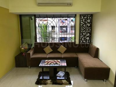 Living Room Image of 580 Sq.ft 1 BHK Apartment for rent in Kurla West for 28000