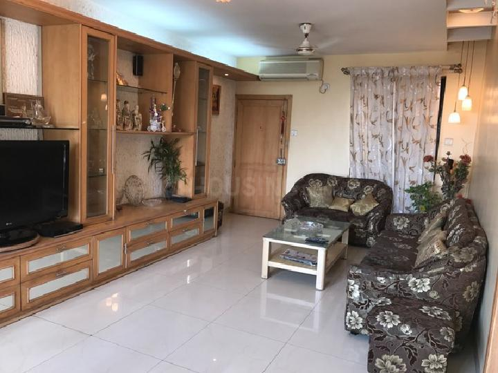 Living Room Image of 1600 Sq.ft 3 BHK Apartment for rent in Wadgaon Sheri for 35000